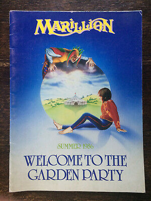 £15.99 • Buy Marillion Welcome To The Garden Party 1986 Tour Programme