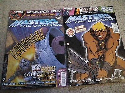 $1.37 • Buy Masters Of The Universe 200x Comic #6 & #8