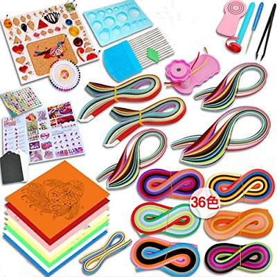 £16.96 • Buy Paper Quilling Kit With 1420 Strips And Quilling Tools Paper Quilling Craft For