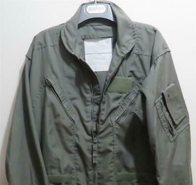 $15.95 • Buy US Military Sage Green Summer Flight Suit Size 42 Long