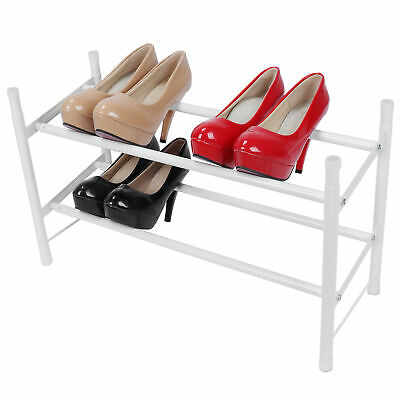 AU47.65 • Buy Shoes Rack Expandable Design Standing Shoes Rack For Small Or Large Spaces