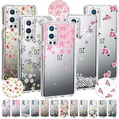 AU7.43 • Buy Blossom TPU Case Cover For OnePlus Nord 10 N10 N100 N200 5G 9 Pro 8T Plus 7T Pro