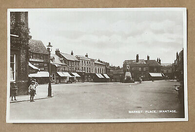 £18 • Buy Market Place Wantage Berkshire Real Photographic Postcard