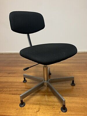 AU128 • Buy Desk Chair Office Study Chair, Made In Germany, Mid Century Retro Vintage