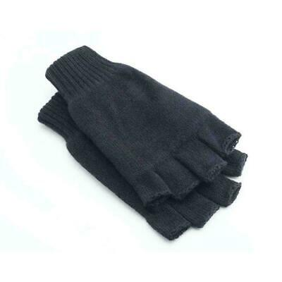 $2.37 • Buy Mens Thermal Thinsulate Knitted Fingerless Gloves Winter Warm Mittens Nice L1V3