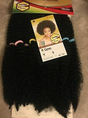 £6.50 • Buy Xpression Expression Ceres Crochet Braids Hair Extensions