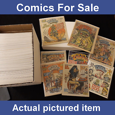 £249.99 • Buy 2000AD Alan Moore Progs Complete Set - 115 Issues Joblot / Collection (LOT#8628)