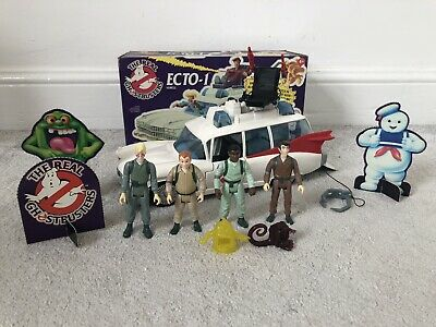 £144.99 • Buy Vintage Kenner The Real Ghostbusters Ecto 1 With Figures Boxed 1984