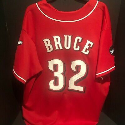 $9.99 • Buy Majestic MLB Authentic Collection Jay Bruce Reds Stitched Jersey  2XL