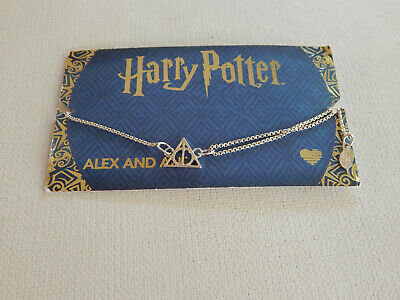 AU57.07 • Buy Alex And Ani Harry Potter Deathly Hallows Pull Chain Bracelet New