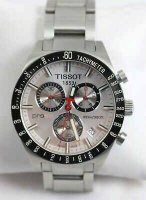 $40 • Buy Tissot PRS 516 T-Sport Chronograph 100M WR Stainless Steel Wristwatch