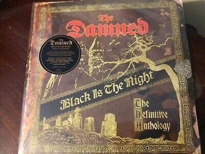 £40 • Buy The Damned - Black Is The Night: Definitive Anthology (NEW 4 GOLD VINYL LP)