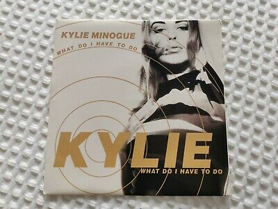 £10 • Buy Kylie Minogue French What Do I Have To Do? 7 Vinyl Rare PWL/Dance Pool 1991