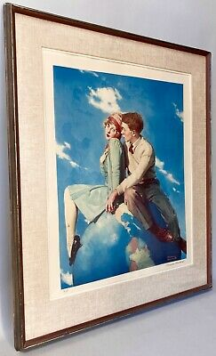 $ CDN1880.85 • Buy ROCKWELL, Norman Lithograph  Top Of The World  Artists Proof A/P Signed & No.