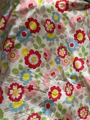£25 • Buy Cath Kidston Double Duvet Cover Flowers - Very Good Condition