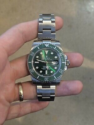 $ CDN19127.23 • Buy Rolex Submariner Date 116610 40mm Stainless Steel With Green Dial Bracelet Watch