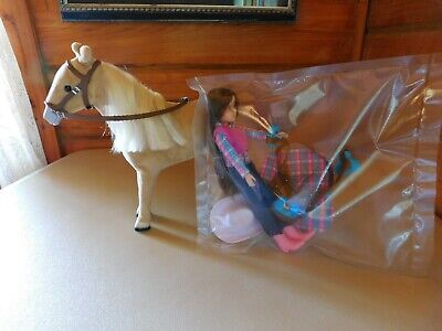 £10.90 • Buy Lot Of 5 Set Horse & Girl Rider Doll Kids Toy Set And Accessories Action Figure