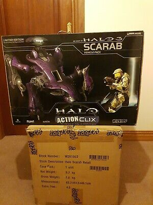 £600 • Buy RARE Halo Scarab Actionclix