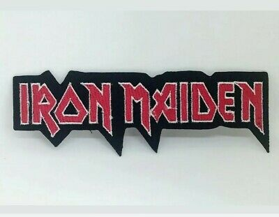 £1.89 • Buy IRON MAIDEN Rock Punk Music Band Logo Iron On Sew On Embroidered Patch