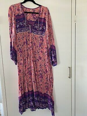 AU250 • Buy Spell And The Gypsy Folktown Boho Blossom Dress Size Small