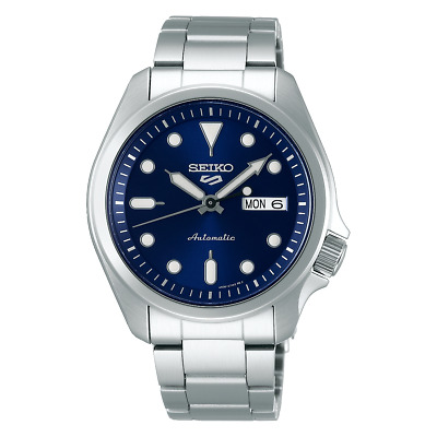 $ CDN232.89 • Buy Seiko 5 Sports 40mm Full Stainless Steel Blue Dial Automatic Watch - SRPE53K1