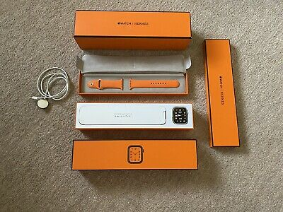 £123 • Buy Apple Watch Series 4 Hermes 44mm With Orange Band And Box - Amazing Condition