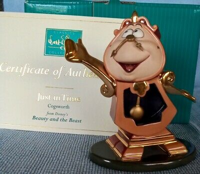 £74.99 • Buy WDCC Cogsworth Just In Time Beauty And The Beast Walt Disney Classics Collection