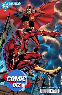 £4.99 • Buy Infinite Frontier #3 (2021) 1st Printing Hitch Cardstock Variant Cover Dc Comics