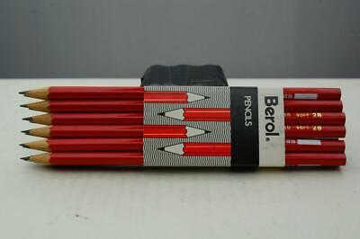 £8 • Buy Berol 2B Soft Pencils, Pack Of 12, With School Class Label.