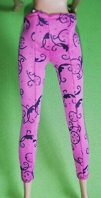 £4.49 • Buy Replacement Barbie Pink Leggings Vintage For 11' Doll
