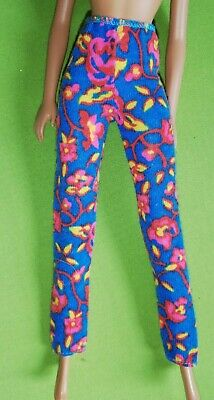 £4.49 • Buy Replacement Barbie Floral Leggings Vintage For 11' Doll