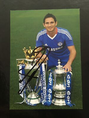 £19.99 • Buy Chelsea Frank Lampard Official Hand Signed Club Card - Postcard