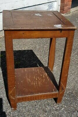 £5 • Buy Vintage Retro Side Table/plant Stand Upcycle Project