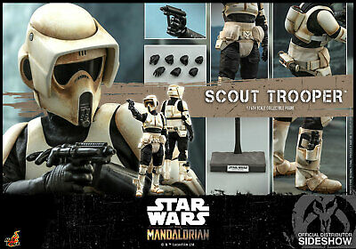 $ CDN276.93 • Buy Hot Toys Star Wars Tms016 The Mandalorian Scout Trooper 1:6 Figure ~sealed Box~