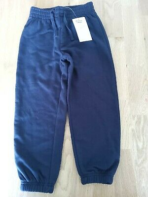 £1.50 • Buy Boys Tu School Navy Joggers Age 5 (New With Tags)