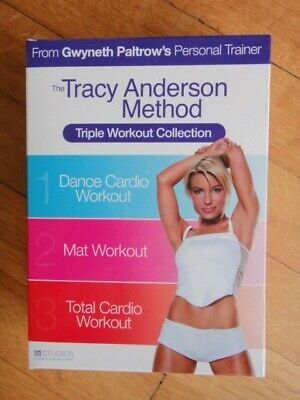 £3 • Buy The Tracy Anderson Method - Triple Workout Collection (DVD, 2010, 3-Disc Set)