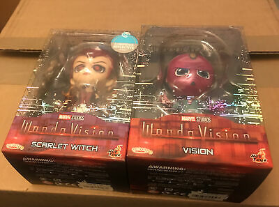 $ CDN149.80 • Buy Marvel Wandavision Scarlet Witch And Vision Set Hot Toys Cosbaby - IN HAND