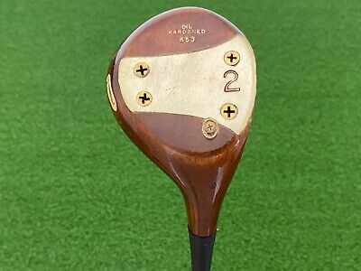 $44.99 • Buy MacGregor Golf TOMMY ARMOUR 653 Persimmon (2) WOOD Right Handed Steel Stiff Used