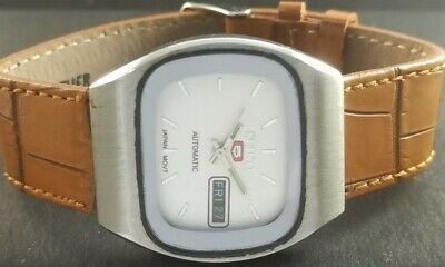 $ CDN1.71 • Buy OLD VINTAGE SEIKO 5 AUTOMATIC JAPAN MENS DAY/DATE WATCH 452-a226860-2