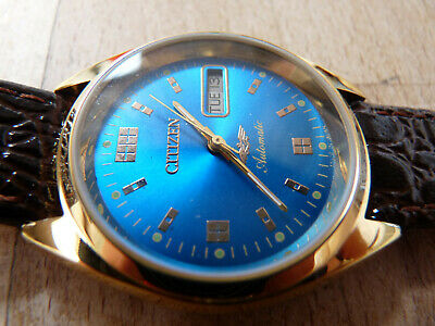 £2.20 • Buy Citizen Vintage Automatic Watch. Fully Working. Clean And Unmolested. (Eagle).