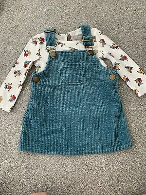 £0.99 • Buy Primark Baby Girls Floral Dungarees 6-9 Months