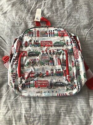 £19.99 • Buy Cath Kidston Kids London Streets Bus Guards Oilcloth Backpack Rucksack New