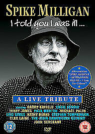 £2.39 • Buy Spike Milligan - I Told You I Was Ill DVD New And Sealed
