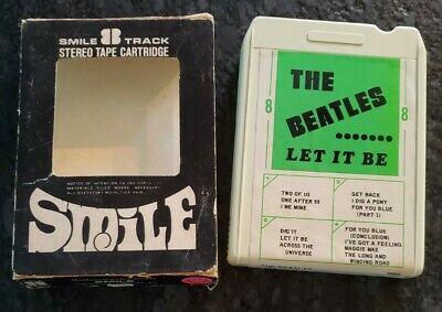 £36.35 • Buy The BEATLES 8 TRACK LET IT BE GET BACK SMILE