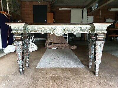 AU600 • Buy Ornate Antique Style Hall Table Console