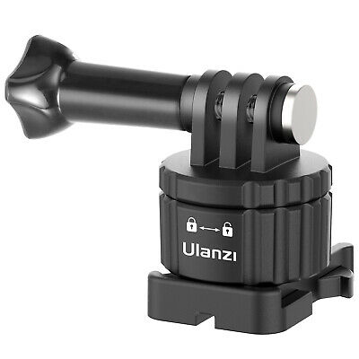 AU15.99 • Buy Ulanzi GP-11 Quick Release Buckle Magnetic Adapter Camera Accessories For GoPro