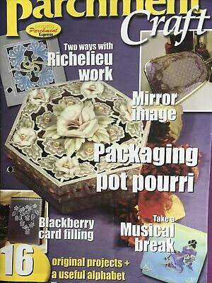 £1.85 • Buy August/Seotember 2002 Parchment Craft Magazine