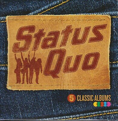 £4.35 • Buy STATUS QUO. 5 CLASSIC ALBUMS.(2015 CD). First 5 Albums. 5 CD's 1972 - 1976