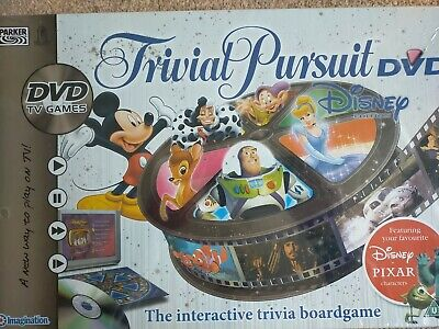 £20 • Buy **NEW SEALED** Trivial Pursuit Disney DVD Edition - Board Game By Parker