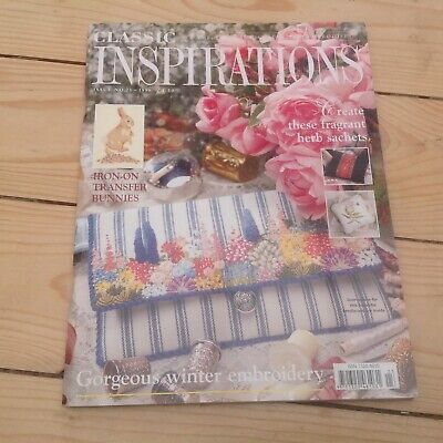 £5 • Buy Classic Inspirations Embroidery Magazine Issue 23